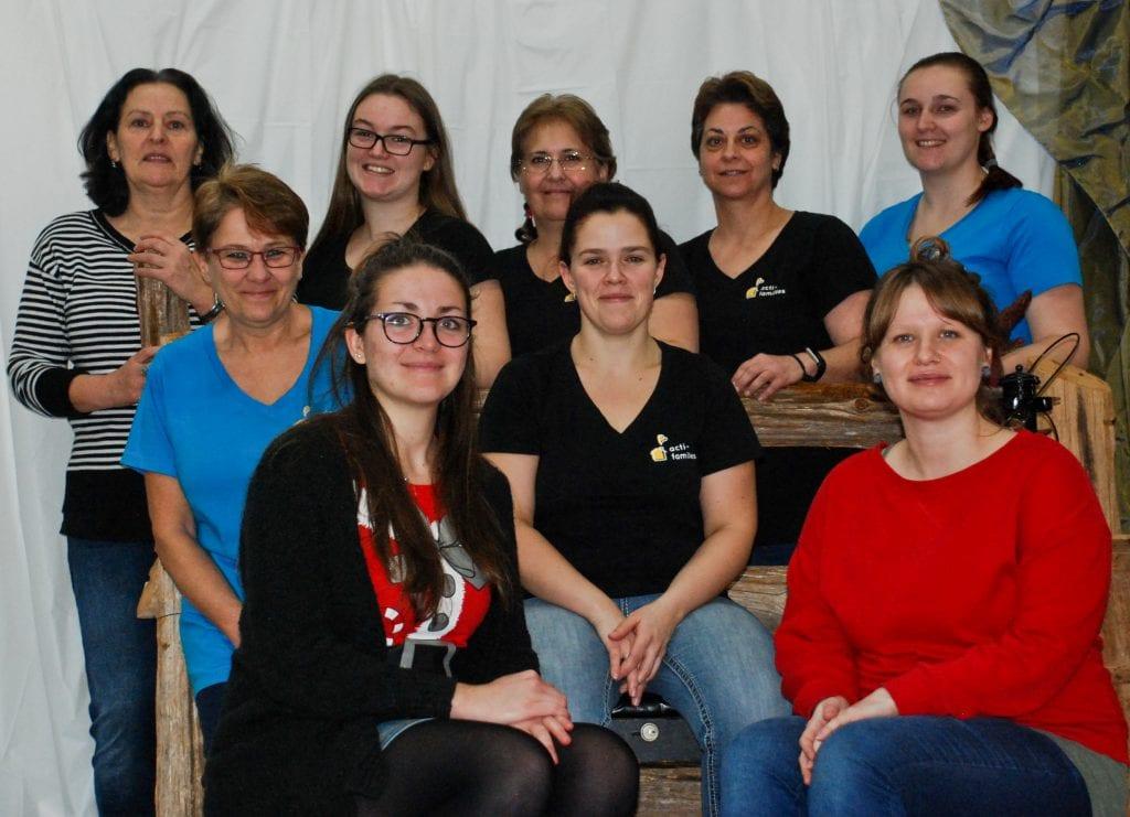 L'équipe d'Acti-Familles